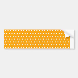 dot sun-yellow (several products selected) bumper sticker