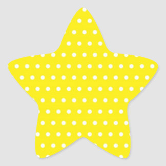 dot sun-yellow (several products selected) star sticker