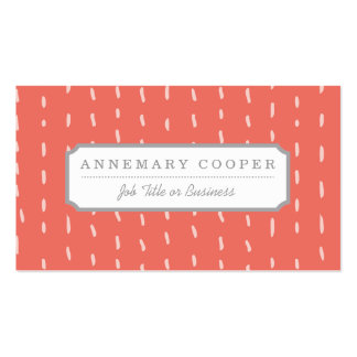 Dot the Line Business Card