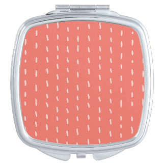 Dot the Line Compact Mirror