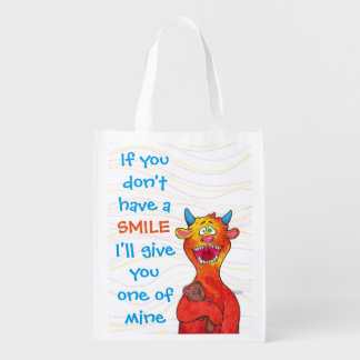 Dot the Monster, reusable bag