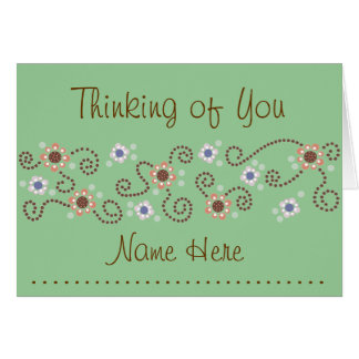 Dot Thinking of You Card