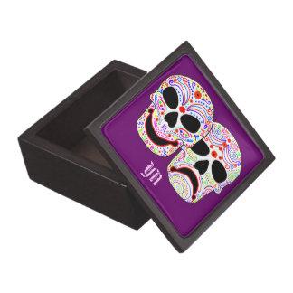 DOTD Comedy-Tragedy Skulls premium gift box