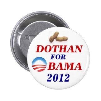 Dothan for Obama Pinback Button