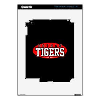 Dothan High School; Tigers Skins For iPad 3