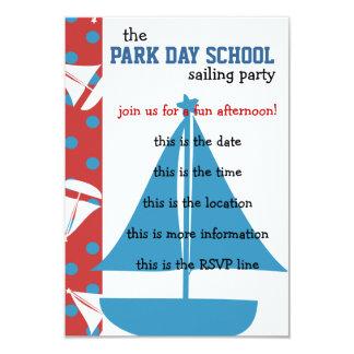 Dots Ahoy! 3.5x5 Paper Invitation Card