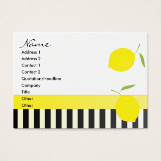 Dots an Lemons Bicycle Business Card