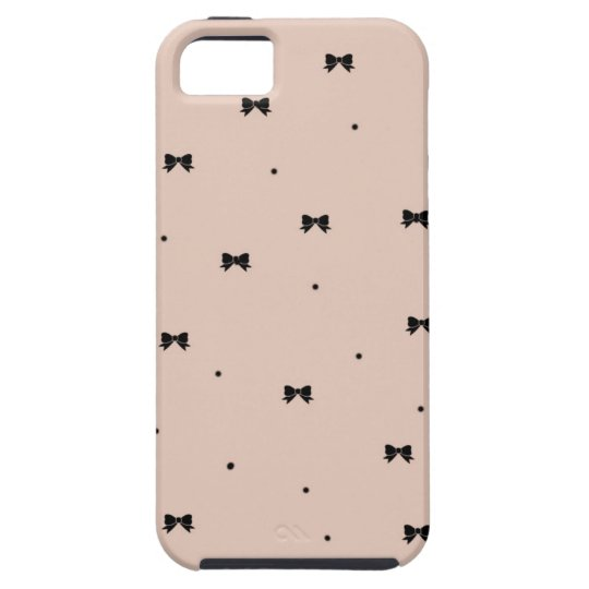 Dots and Bows iPhone 5 Case