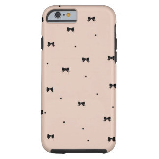 Dots and Bows iPhone 6 case