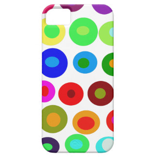 Dots and Circles iPhone SE/5/5s Case