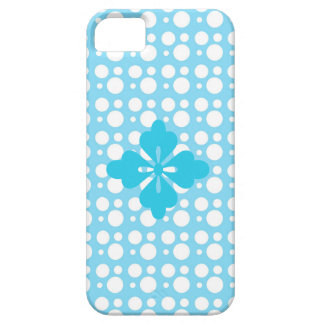 dots and light blue color iPhone 5 covers