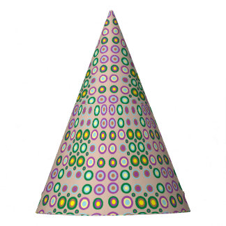 dots and spots party hat
