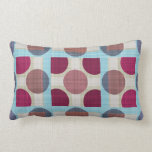 Dots and Squares into the Retrostyle Pillows