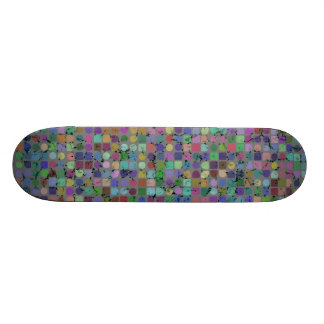 DOTS AND SQUARES Skateboard