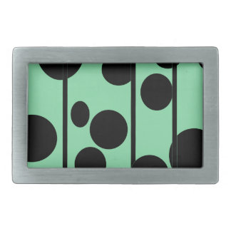 Dots and stripes belt buckle