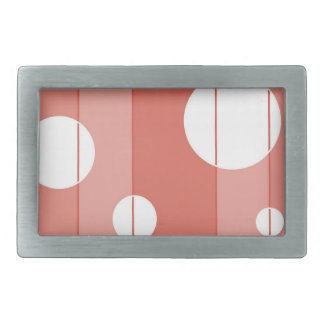 Dots and Stripes in BarnRed Belt Buckle