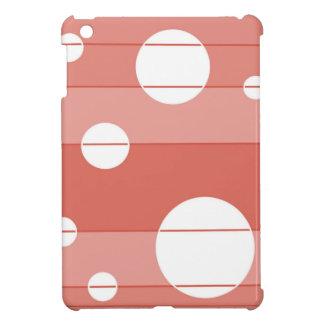 Dots and Stripes in BarnRed iPad Mini Covers