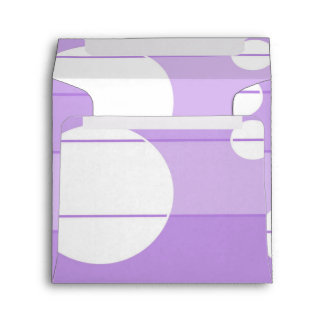 Dots and Stripes in FairytalePurple Envelope