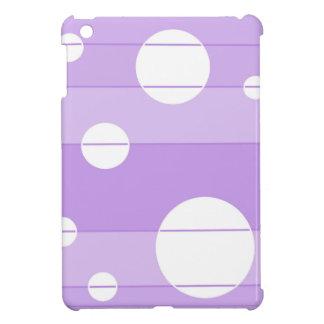 Dots and Stripes in FairytalePurple iPad Mini Covers