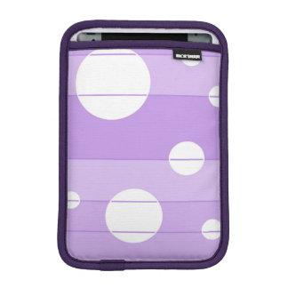 Dots and Stripes in FairytalePurple iPad Mini Sleeve