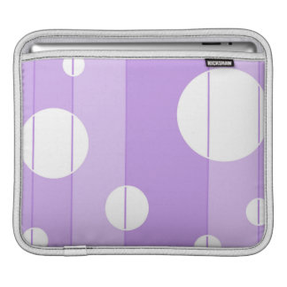 Dots and Stripes in FairytalePurple Sleeve For iPads
