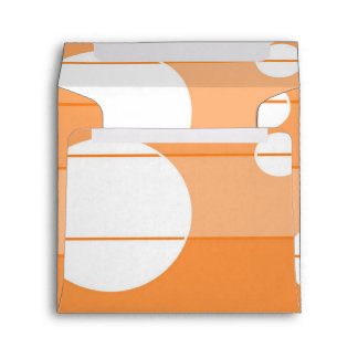 Dots and Stripes in Orange Envelope