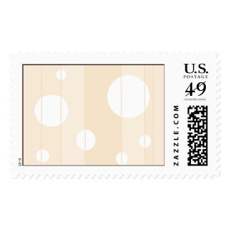 Dots and Stripes in Vanilla Postage Stamp
