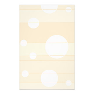 Dots and Stripes in Vanilla Stationery