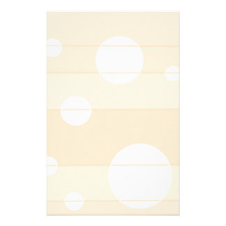 Dots and Stripes in Vanilla Stationery Design