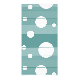 Dots and Stripes in WinterGreen Card