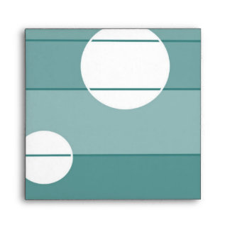 Dots and Stripes in WinterGreen Envelope