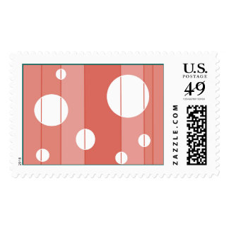 Dots and Stripes in WinterGreen Postage