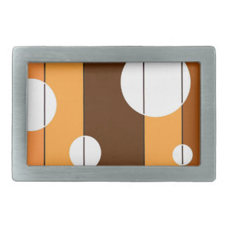 Dots and Stripes in WinterGreen Rectangular Belt Buckle