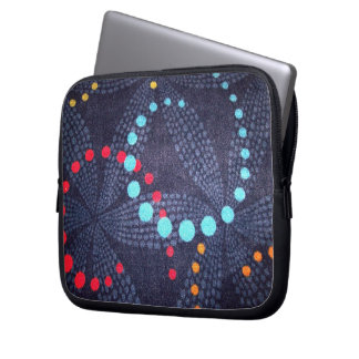 Dots and Swirls Laptop Sleeve