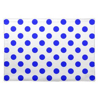 DOTS - BLUE BLUE ~ CLOTH PLACE MAT