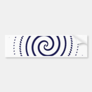 dots bumper sticker