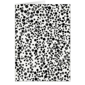 Dots. Card