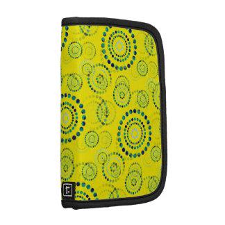 Dots Circle Power Flowers II + your backgr. & idea Planner