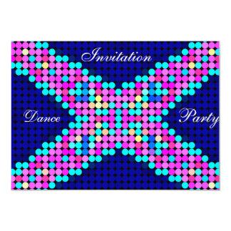 Dots Color Dance Invitation Custom Invites