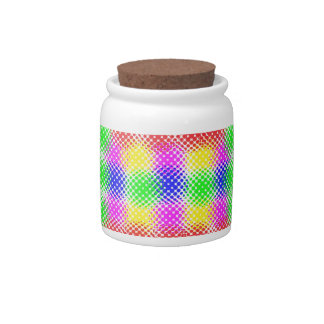 Dots Colorful Candy Dish