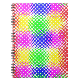 Dots Colorful Journals