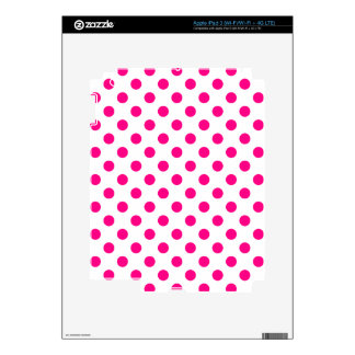 DOTS - COTTON CANDY ~ DECALS FOR iPad 3