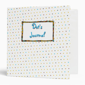 Dots Custom 1.5 inch Binder