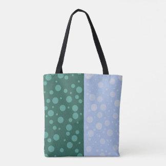 Dots Custom All-Over-Print Tote Bag