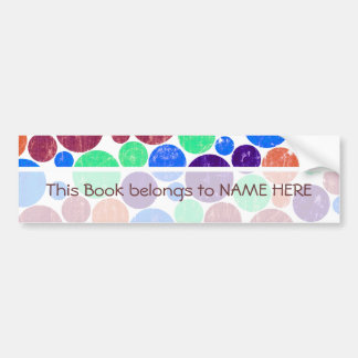 Dots - Customized Bumper Stickers