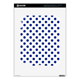 DOTS - DEEP BLUE ~ DECAL FOR iPad 3