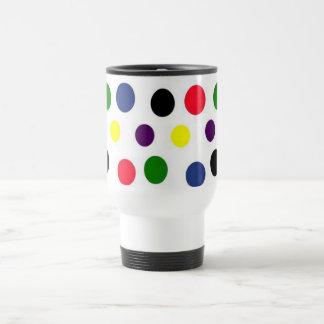 Dots, Dots & Dots Travel Mug