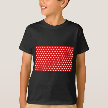 Professional Business dots, elegant, red and white, funny T-Shirt
