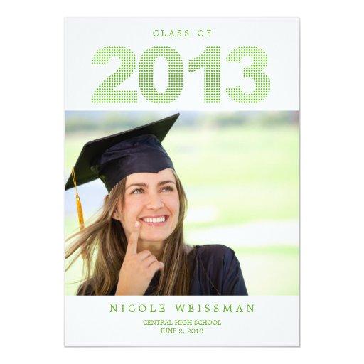 DOTS Graduation Announcements Invitation