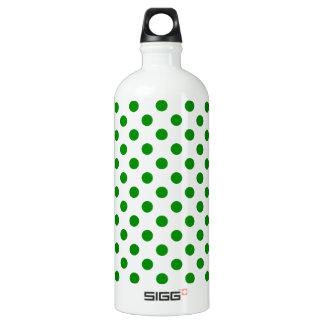 DOTS - GREEN GREEN (a polka dot design) ~ SIGG Traveler 1.0L Water Bottle